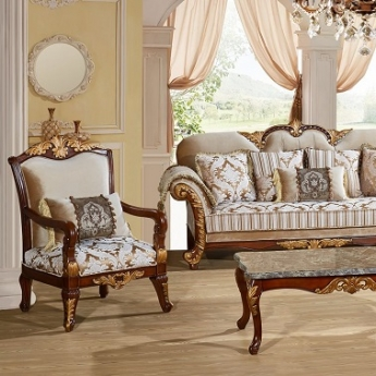 The Camelia Collection By Meridian Furniture. Features A Traditional Hand  Crafted Design Upholstered In A Beautiful Custom Fabric. Features A Sol .