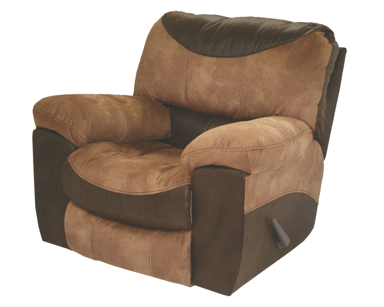 Catnapper portman chaise rocker recliner in saddle 1960 2 for Catnapper cloud nine chaise recliner