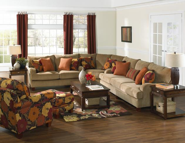 furniture living room furniture sectional collection 3 piece