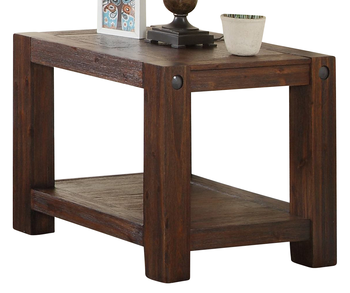New Classic Furniture Fairway Chairside Table In