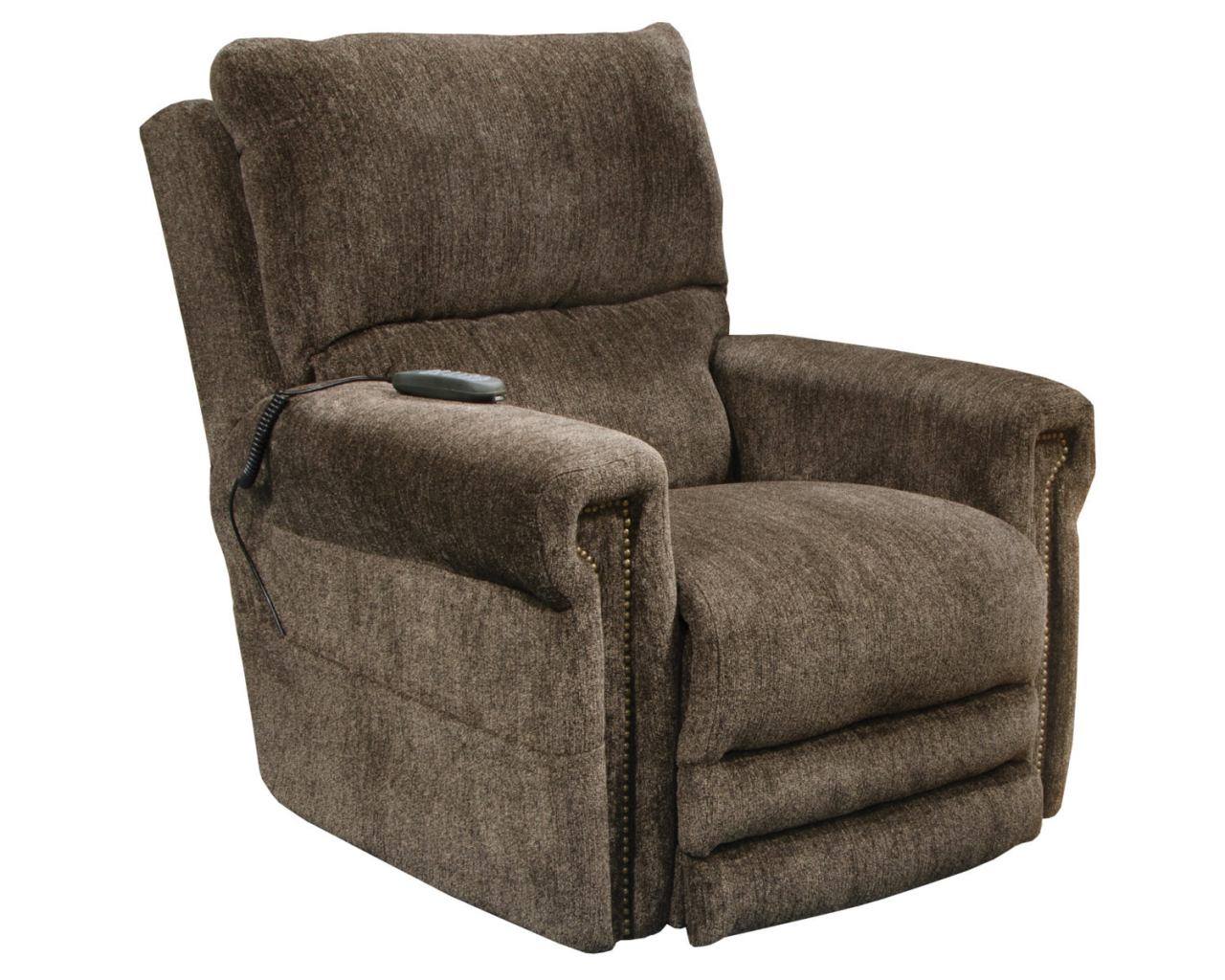 Catnapper Warner Power Lift Recliner w/ Dual Motor & Extended Ottoman in Tiger`s 64862 CODE:UNIV20 for 20% Off