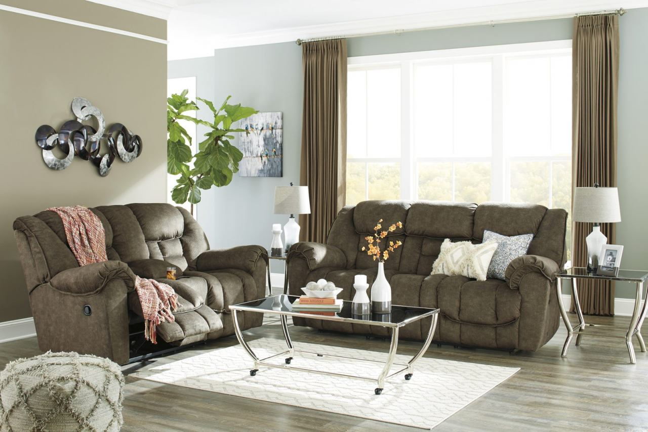 Capehorn 2-Piece Living Room Set in Earth