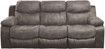 Catnapper Henderson Power Reclining Sofa with Drop Down Table in Dusk 64355 CODE:UNIV20 for 20% Off