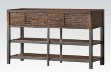 Acme Andria TV Stand in Reclaimed Oak 91623