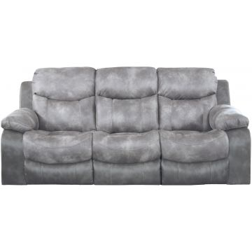 Catnapper Henderson Power Reclining Sofa with Drop Down Table in Steel 64355 CODE:UNIV20 for 20% Off