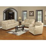 Acme Connell Microfiber Living Room Set in Beige