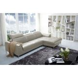 J&M Furniture1727 Premium Leather Sectional RAF in Beige 1785831-RHFC-BE