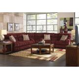 Catnapper Siesta 3pc Sectional Set in Wine CODE:UNIV20 for 20% Off
