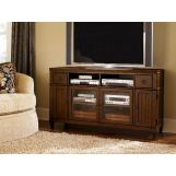 Hammary Sunset Valley Entertainment Console in Brown 197-927