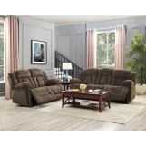 New Classic Furniture 2pcs Laura Living Room Set in Chocolate PROMO