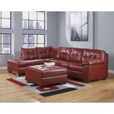 Alliston DuraBlend® LAF Sectional Set in Salsa