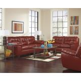 Alliston DuraBlend® Living Room Set in Salsa