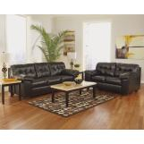 Alliston DuraBlend® Living Room Set in Chocolate