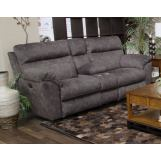 Catnapper Sedona Power Headrest Lay Flat Recl Console Loveseat w/Storage and Cupholders in Smoke 62229 CODE:UNIV20 for 20% Off