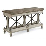 A.R.T Arch Salvage Vaux Sofa Table in Cirrus 233327-2817