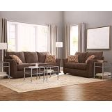 Jackson Furniture Kelly 2pc Living Room Set in Fudge