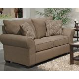 Jackson Furniture Maddox Loveseat in Fudge/Leather 415202