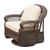 South Sea Rattan Montego Bay Outdoor Swivel Glider 75105