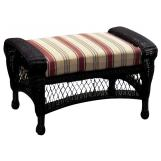 South Sea Rattan Montego Bay Outdoor Ottoman 75106