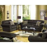 Jackson Mesa Living Room Set in Chocolate