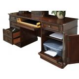 Liberty Brayton Manor Jr Executive Credenza in Cognac EST SHIP TIME IS 4 WEEKS CODE:UNIV20 for 20% Off