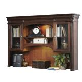 Liberty Brayton Manor Jr Executive Credenza Hutch in Cognac EST SHIP TIME IS 4 WEEKS CODE:UNIV20 for 20% Off
