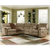 Amazon-Mocha Sectional CLEARANCE