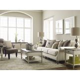 Legacy Classic Brookhaven 3pc Occasional Set in Vintage Linen/Rustic Dark Elm