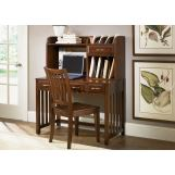 Liberty Hampton Bay Home Office Writing Desk Set in Cherry EST SHIP TIME IS 4 WEEKS