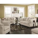 4-Piece Darcy Living Room Set in Stone