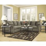 3-Piece Darcy Loveseat Sectional Set in Sage