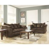 4-Piece Darcy Living Room Set in Cafe