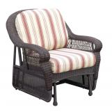 South Sea Rattan Montego Bay Outdoor Single Glider 75131