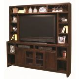 Aspenhome Essentials Lifestyle Entertainment Wall in Black CL1036EW-BLK