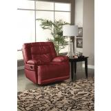 New Classic Torino Power Glider Recliner in Red