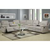 Homelegance Marianna 3 Piece Sectional in Grey