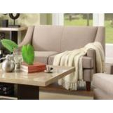 Homelegance Copely Love Seat in Brown Beige 9993-2