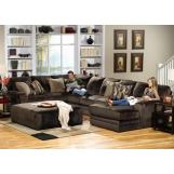 Jackson Everest 4pc Sectional Living Room Set in Chocolate CODE:UNIV20 for 20% Off