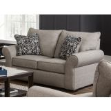 Jackson Furniture Maddox Loveseat in Fossil/Phantom 415202