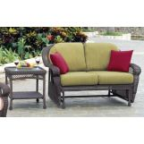 South Sea Rattan Montego Bay Outdoor Double Glider 75132