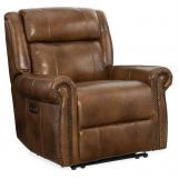 Hooker Furniture Esme Power Recliner with Power Headrest in Carmel SS461-PWR-185