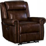 Hooker Furniture Esme Power Recliner with Power Headrest in Chocolate SS461-PWR-188