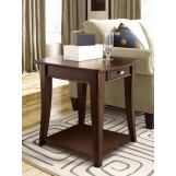 Hammary Enclave Rectangular End Table in Sable T2079221-00 CLEARANCE