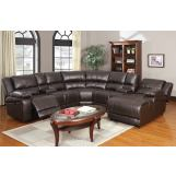 Acme Zanthe Home Theather Sectional Set in Espresso 50500-SET