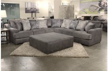 Jackson Furniture Cortland 4pcs Sectional Living Room Set in Graphite CODE:UNIV20 for 20% Off