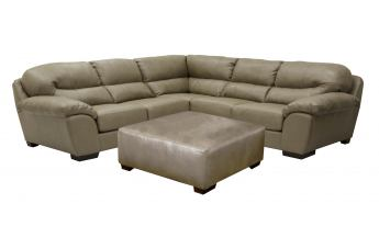 Jackson Lawson Modular Section with Loveseat Set in Putty CODE:UNIV20 for 20% Off