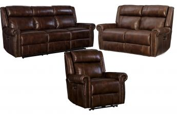 Hooker Furniture Esme 2pc Living Room Set in Chocolate