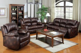 Acme Zanthe 2-Piece Living Room Set in Brown 50510-SET