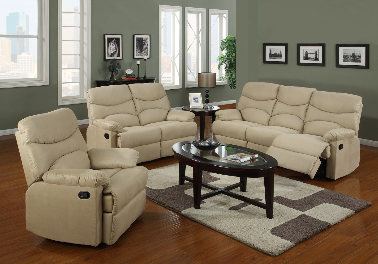 G407 for 3 piece living room set cheap