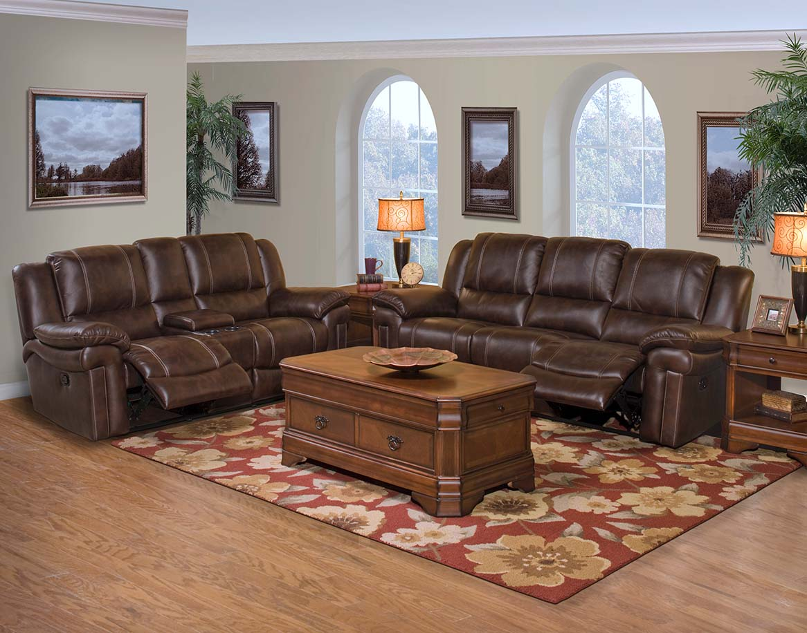 New classic hastings power motion reclining living room for Cheap reclining living room sets
